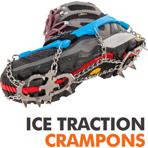 Crampones ligeros Ice Traction de Climbing Technology