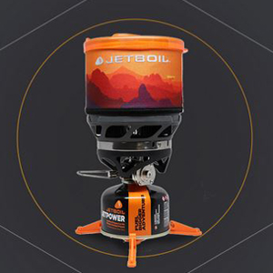 "Hornillos JETBOIL de la gama ""Regulated Systems"""